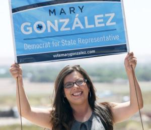 Mary Gonzalez Arm